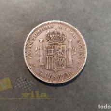 Monedas Franco: MONEDA DE 5 PESETAS DE AMADEO I - 1871 *75. Lote 184526855