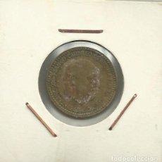 Monedas Franco: ESPAÑA - 1 PESETA DE FRANCO - RUBIA - DEL AÑO 1963 *19*66*. Lote 184643803