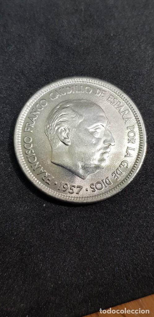 25 PESETAS 1957 (69) SIN CIRCULAR (Numismática - España Modernas y Contemporáneas - Estado Español)