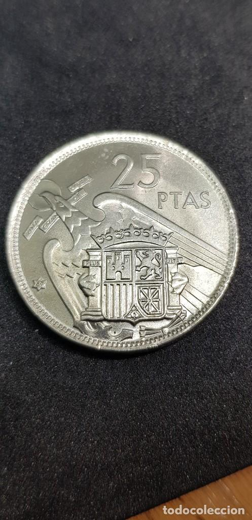 Monedas Franco: 25 PESETAS 1957 (69) SIN CIRCULAR - Foto 2 - 186061163