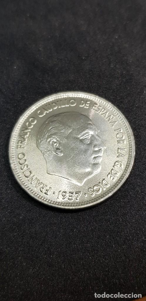 25 PESETAS 1957 (70) SIN CIRCULAR (Numismática - España Modernas y Contemporáneas - Estado Español)