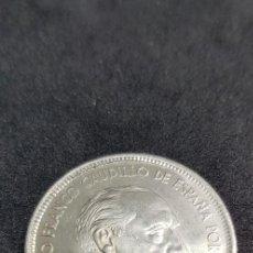 Monedas Franco: 25 PESETAS 1957 (66) SIN CIRCULAR . Lote 186062267