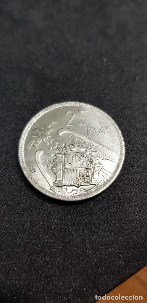 Monedas Franco: 25 PESETAS 1957 (66) SIN CIRCULAR - Foto 2 - 186062267