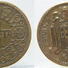 Monedas Franco: MONEDA DE 1 PESETA 1944. Lote 186257808