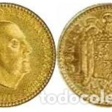 Monedas Franco: 1966 *71 KM796 MONEDA 1 PESETA FRANCO SIN CIRCULAR - UNC. Lote 186281388