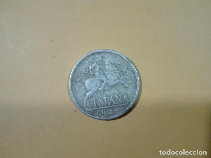 1 MONEDA DE 10 CENTIMOS DE PESETA AÑO 1945 ESPAÑA (Numismática - España Modernas y Contemporáneas - Estado Español)