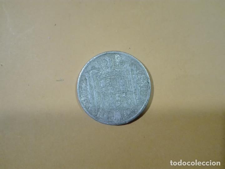 Monedas Franco: 1 MONEDA DE 10 CENTIMOS DE PESETA AÑO 1945 ESPAÑA - Foto 2 - 188441748