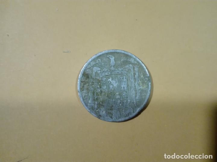 Monedas Franco: 1 MONEDA DE 10 CENTIMOS DE PESETA AÑO 1941 ESPAÑA - Foto 2 - 188441765