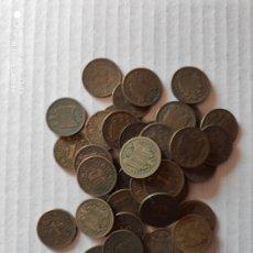 Monedas Franco: LOTE 44 MONEDAS 1 PESETA 1944. Lote 188662061