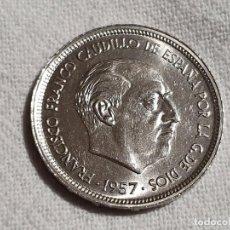 Monedas Franco: 50 PESETAS 1957 *60 - EBC/EF. Lote 245994890