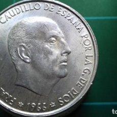 Monedas Franco: MONEDA PLATA , 100 PESETAS FRANCO 1966 ESTRELLAS VISIBLES *19/*66,SC/SC- 19,05 GRS.. Lote 189074501