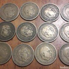 Monedas Franco: LOTE MONEDA DE 1 PESETA DE 1947. Lote 189150592