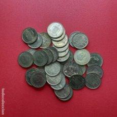 Monnaies Franco: 1 PESETA, FRANCISCO FRANCO. 1966. LOTE DE 37 PIEZAS. Lote 189505553
