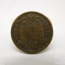 Monedas Franco: ESPAÑA 1 PESETA AÑO 1947 ESTRELLA 48. Lote 190147775