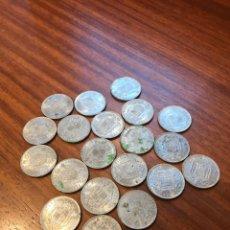 Monete Franco: LOTE 20 MONEDAS DE 5 PESETAS AÑO 1949 *50. Lote 190606080