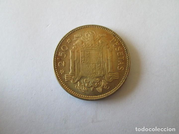 Monedas Franco: ESTADO ESPAÑOL * 2,50 PESETAS 1953*56 * SC - Foto 2 - 190634247