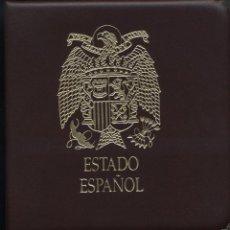 Monedas Franco: COLECCIÓN AVANZADA ESPAÑA ESTADO ESPAÑOL FRANCO EN ALBUM BBB NUEVO. ESTO ES LO QUE INCLUYE : 105 MON. Lote 191622697