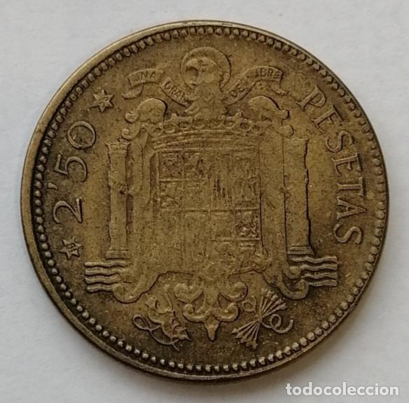 2,5 PTS 1953 ESTRELLA 56 TOTALMENTE VISIBLE ,ESCASA,MUY BUEN ESTADO #14 (Numismática - España Modernas y Contemporáneas - Estado Español)