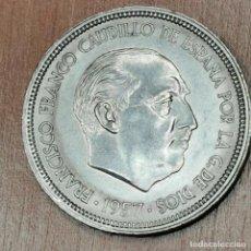 Monedas Franco: 50 PESETAS DE 1957 ESTRELLA 59. BRILLO ORIGINAL. Lote 191909167