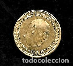 MONEDA DE 1 PESETA - ESTADO ESPAÑOL - 1966-69 (Numismática - España Modernas y Contemporáneas - Estado Español)