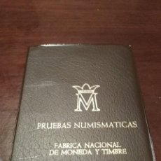 Monedas Franco: CARTERA ESTADO ESPAÑOL FNMT 1957 ESTRELLA 19 75 * PRUEBAS NUMISMÁTICAS PROOF 6 VALORES. Lote 191958235