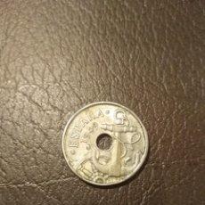 Monedas Franco: MONEDA 50 CÉNTIMOS ESTADO ESPAÑOL 1949 ESTRELLA * 19 52 CINCUENTA VARIANTE COSPEL MÁS DELGADO. Lote 191960868