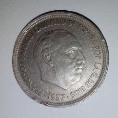 Monedas Franco: 50 PESETAS FRANCO 1957 *58. Lote 191992340