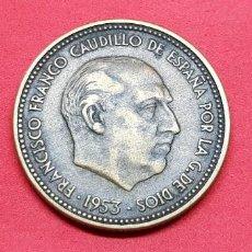 Monedas Franco: 2,50 PESETAS 1953 (LOTE DOS MONEDAS 54 Y 56). Lote 192274197
