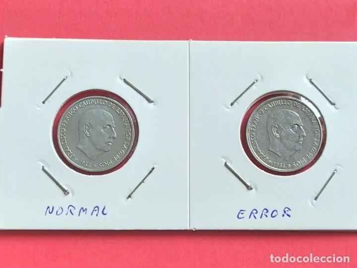 Monedas Franco: ## ERROR - 50 Cent 1966+68 reverso girado 125º ## - Foto 2 - 193361546