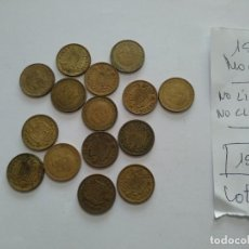 Monedas Franco: 15 - MONEDAS FRANCO AÑO 1966 - NO LIMPIADAS - NO CLASIFICADAS. Lote 193762373