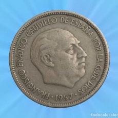 Moedas Franco: 5 PESETAS 1957 ESTRELLA 58 ESTADO ESPAÑOL FRANCO MONEDA. Lote 193808432