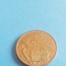 Monedas Franco: MONEDA DE 25 PESETAS - FRANCO - AÑO 1957 ESTRELLA 69. Lote 194196098