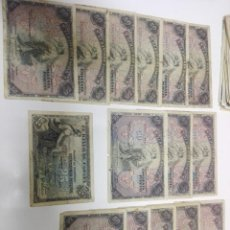 Monedas Franco: GRAN LOTE DE 101 BILLETE ANTIGUOS. Lote 194202738