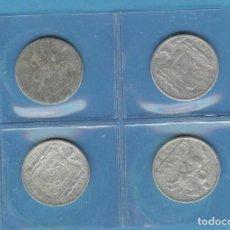 Monedas Franco: ESPAÑA /ESTADO ESPAÑOL 4 MONEDAS DE 10 CÉNTIMOS 1940,1941, 1945 Y 1953.. Lote 194213478