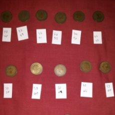 Monedas Franco: LOTE MONEDAS 1 PESETA. Lote 194247177