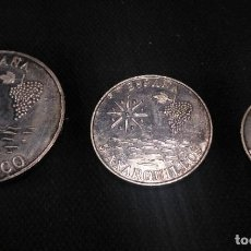 Monedas Franco: LOTE 3 MONEDAS DE AXARCO 1989 (PLATA) 1 AXARCO, 5 AXARQUILLOS Y 2 AXARQUILLO.. Lote 194271070