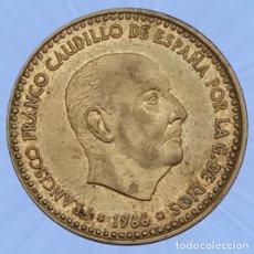 Monedas Franco: 1 PESETA 1966 ESTRELLA 69 ESTADO ESPAÑOL FRANCO MONEDA. Lote 194281428