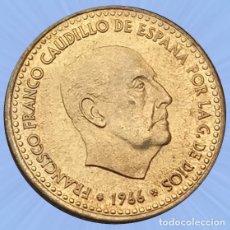 Monedas Franco: 1 PESETA 1966 ESTRELLA 70 ESTADO ESPAÑOL FRANCO SIN CIRCULAR. Lote 194281626