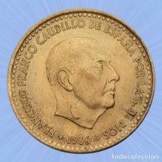 Monedas Franco: 1 PESETA 1966 ESTRELLA 71 ESTADO ESPAÑOL FRANCO SIN CIRCULAR. Lote 194281762