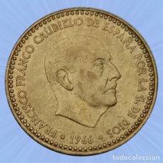 Monedas Franco: 1 PESETA 1966 ESTRELLA 72 ESTADO ESPAÑOL FRANCO MONEDA. Lote 194281928