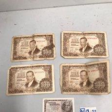 Monedas Franco: LOTE DE BILLETES ESPAÑOLES. Lote 194326900