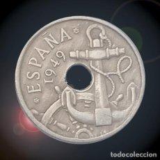Monedas Franco: 50 CÉNTIMOS 1949 ESTRELLAS 19 56 ESTADO ESPAÑOL FRANCO MONEDA. Lote 194326988