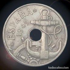 Monedas Franco: 50 CÉNTIMOS 1949 ESTRELLAS 19 62 ESTADO ESPAÑOL FRANCO MONEDA. Lote 194327233