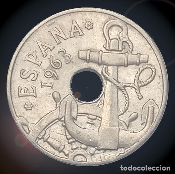 50 CÉNTIMOS 1963 ESTRELLAS 19 64 ESTADO ESPAÑOL FRANCO MONEDA (Numismática - España Modernas y Contemporáneas - Estado Español)