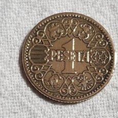 Monedas Franco: 1 PESETA 1944 - MBC. Lote 194361015
