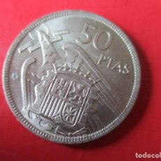 Monedas Franco: 50 PTS DE FRANCO 1957 *68. Lote 194374715