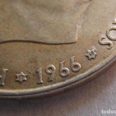 Monedas Franco: FRANCO . 100 PESETAS DE PLATA . ESTRELLAS MUY CLARAS . 19-69 . CALIDAD FANTASTICA . MUY RARA. Lote 194543582