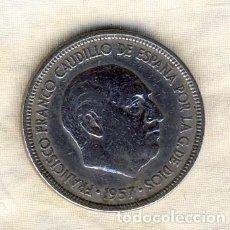 Monedas Franco: 5 PESETAS FRANCO.- 1957*62.- (1). Lote 194680076
