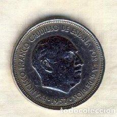 Monedas Franco: 5 PESETAS FRANCO.- 1957*62.- (4). Lote 194684452