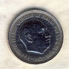 Monedas Franco: 5 PESETAS FRANCO.- 1957*62.- (5). Lote 194684922